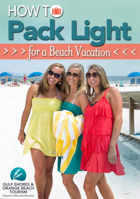 How To Pack Light For A Beach Vacation