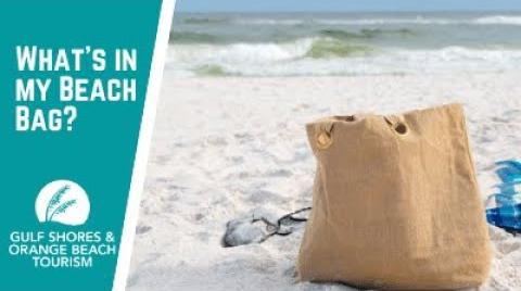 Play the video: What's in my Beach Bag? | Family Beach Bag Essentials for Gulf Shores, Alabama